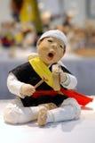 Korean Folk Music Drummer Stock Photography