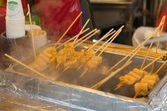 Korean food 오뎅 Stock Image
