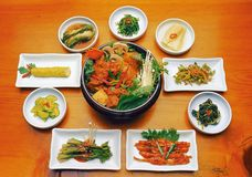 Korean Food Royalty Free Stock Photo