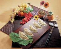 Korean Food. Display Royalty Free Stock Photography
