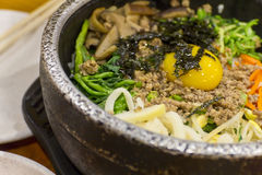 Korean Food Bibimbap Stock Photography