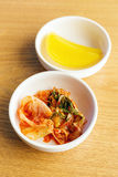 Korean food, kim chi Royalty Free Stock Photos