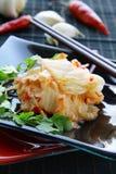 Korean food Kimchi royalty free stock image