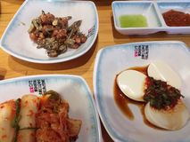 Korean food for the lunch stock photography