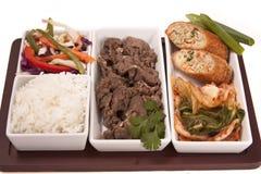 Korean Food Medley Royalty Free Stock Photos