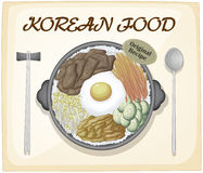 Korean food Royalty Free Stock Image