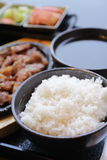 Korean food set Stock Images