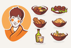 Korean food Royalty Free Stock Photography