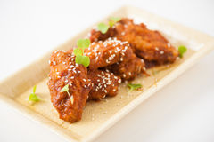 Korean fried chicken Royalty Free Stock Photography