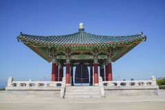 Korean Friendship Bell Stock Photo
