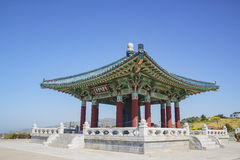 Korean Friendship Bell. Afternoon view of Korean Friendship Bell at San Pedro, California Royalty Free Stock Image