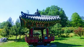 Korean garden. Nature, park, Asia royalty free stock photography