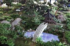 Korean garden Royalty Free Stock Image