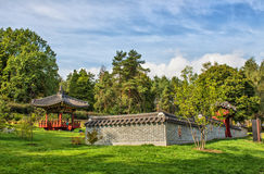 Korean garden Stock Images