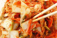 Korean Gimchi made by mix vegetable Royalty Free Stock Image
