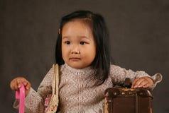 Korean girl Royalty Free Stock Image