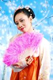 Korean girl Royalty Free Stock Photo