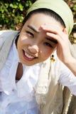 Korean girl Stock Image