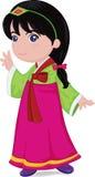 Korean girl Stock Images