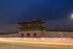 Korean historic gate Stock Photo