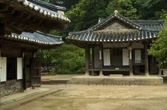 Korean home. Traditional Korean home, South Korea Stock Photography