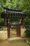 Korean home. Traditional Korean home, South Korea Stock Images