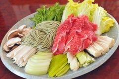 Korean Hot pot Royalty Free Stock Photo