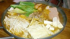Korean hotpot Stock Photography