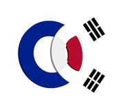 Korean Icon Concept Royalty Free Stock Image
