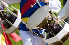 Korean Janggu Drum Stock Image