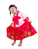 Korean kid royalty free stock photography