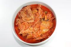 Korean kimchi chigae. Korean spicy soup kimchi chigae Stock Photo