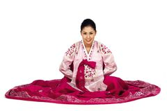 Korean Lady Royalty Free Stock Photo