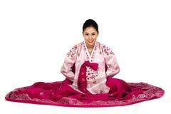Korean Lady Royalty Free Stock Photo