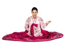 Korean Lady Royalty Free Stock Image