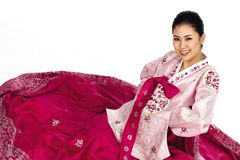 Korean Lady Stock Photography