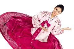 Korean Lady Royalty Free Stock Images