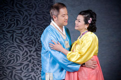 Korean lovers Royalty Free Stock Photo