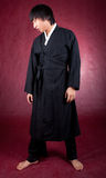 Korean man in a traditional dress Royalty Free Stock Photography