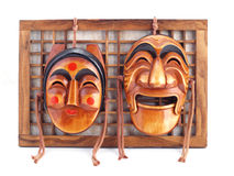 Korean Masks. Stock Image