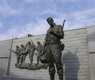 Korean memorial atlantic city nj Stock Images