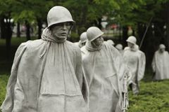 Korean Memorial Royalty Free Stock Photo