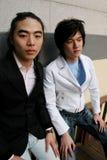 Korean men Royalty Free Stock Photos