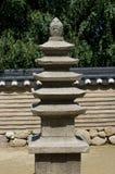 Korean minipagoda. Stock Photos