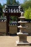Korean minipagoda. Royalty Free Stock Photo