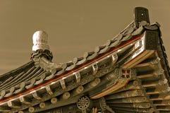 Korean Monument. A Korean monument atop a hillside Royalty Free Stock Photography