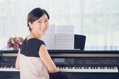 Korean musician Royalty Free Stock Photography