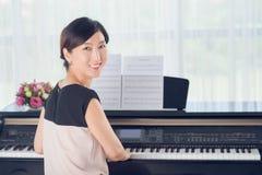 Korean musician Royalty Free Stock Photography