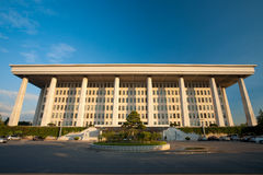Korean National Assembly Rear Stock Image