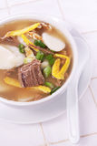 Korean New Year's soup Royalty Free Stock Photo